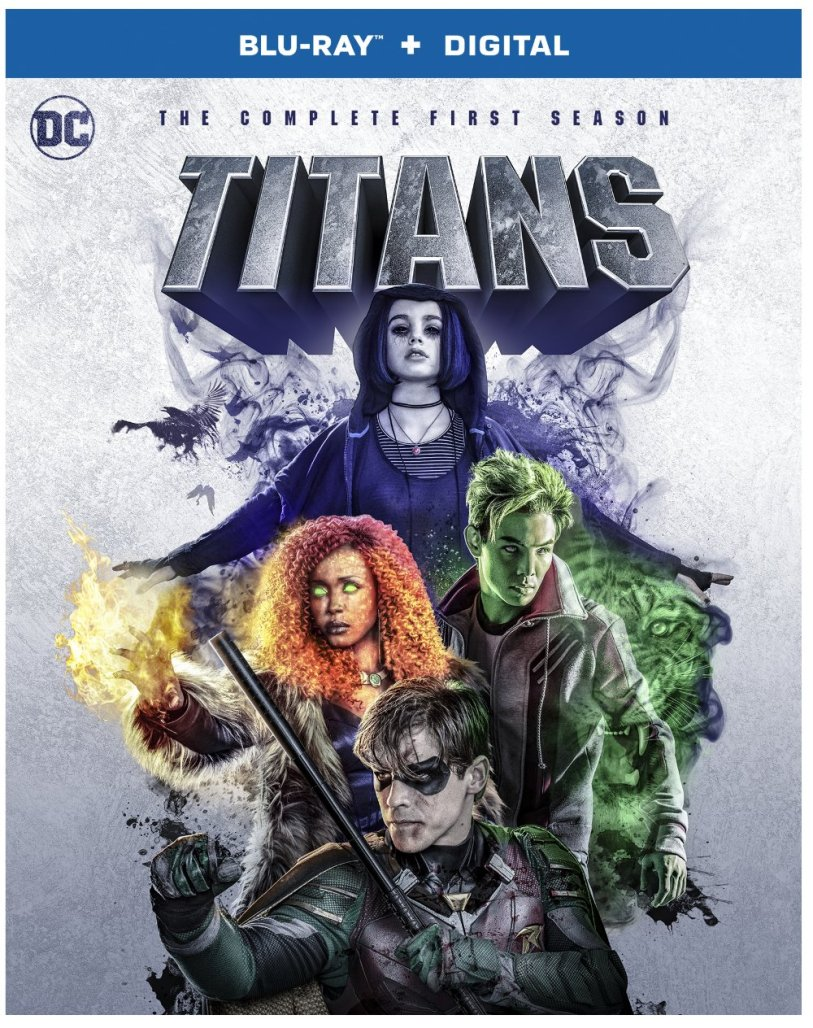 Titans Season 1 Box Art