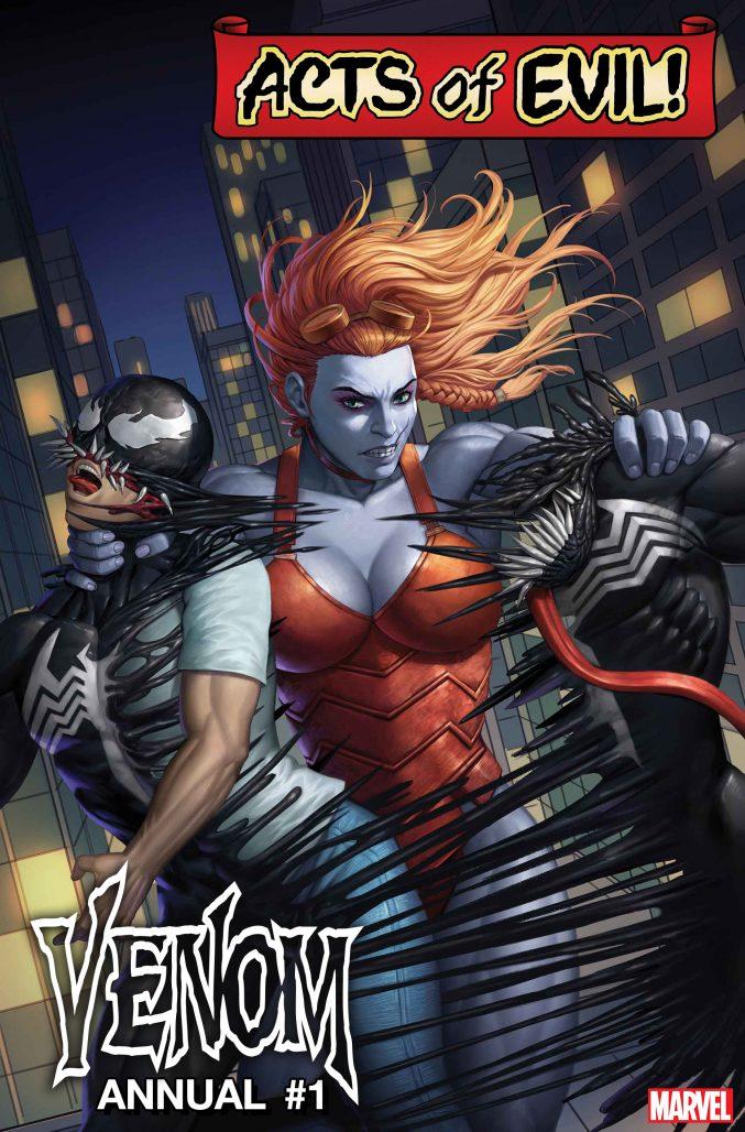 Venom Acts of Evil! Annual Cover