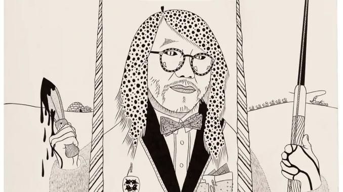 alatook ipellie inuit cartoonist