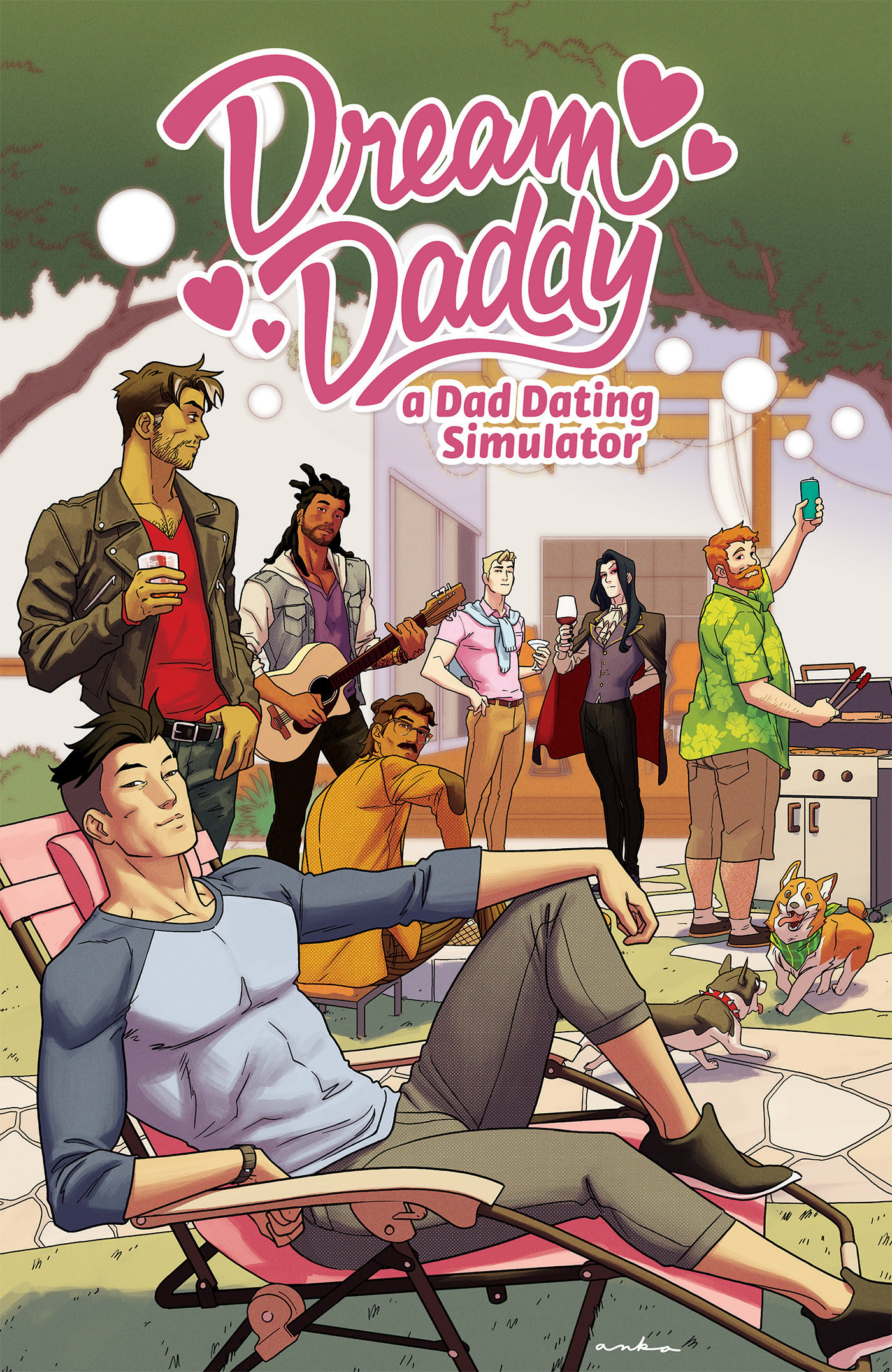 Dream Daddy TPB cover 1