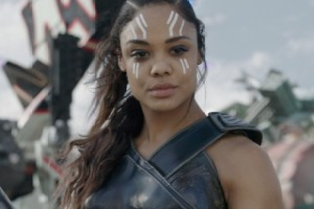 "Tessa Thompson survived the ""snapture"" and is back in AVENGERS: ENDGAME"