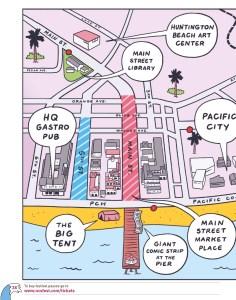 Venue map, part two
