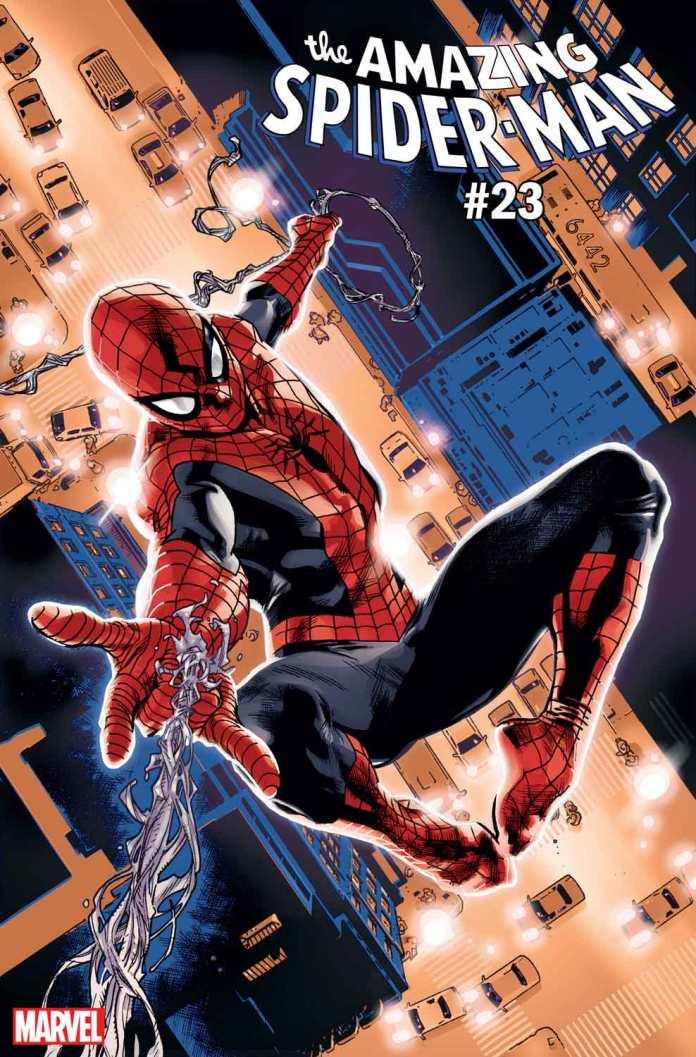 Amazing Spider-Man #23 costumes variant