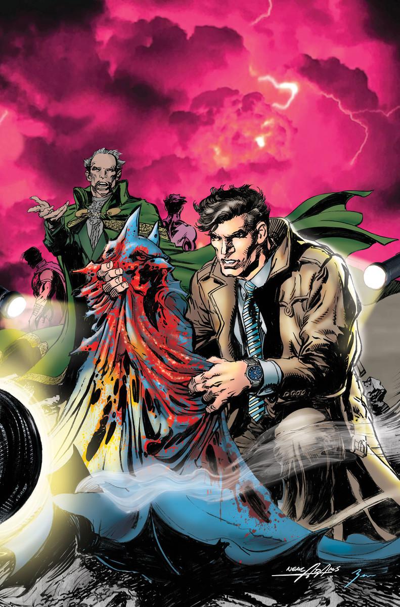 Batman vs. Ra's al Ghul #1 Cover