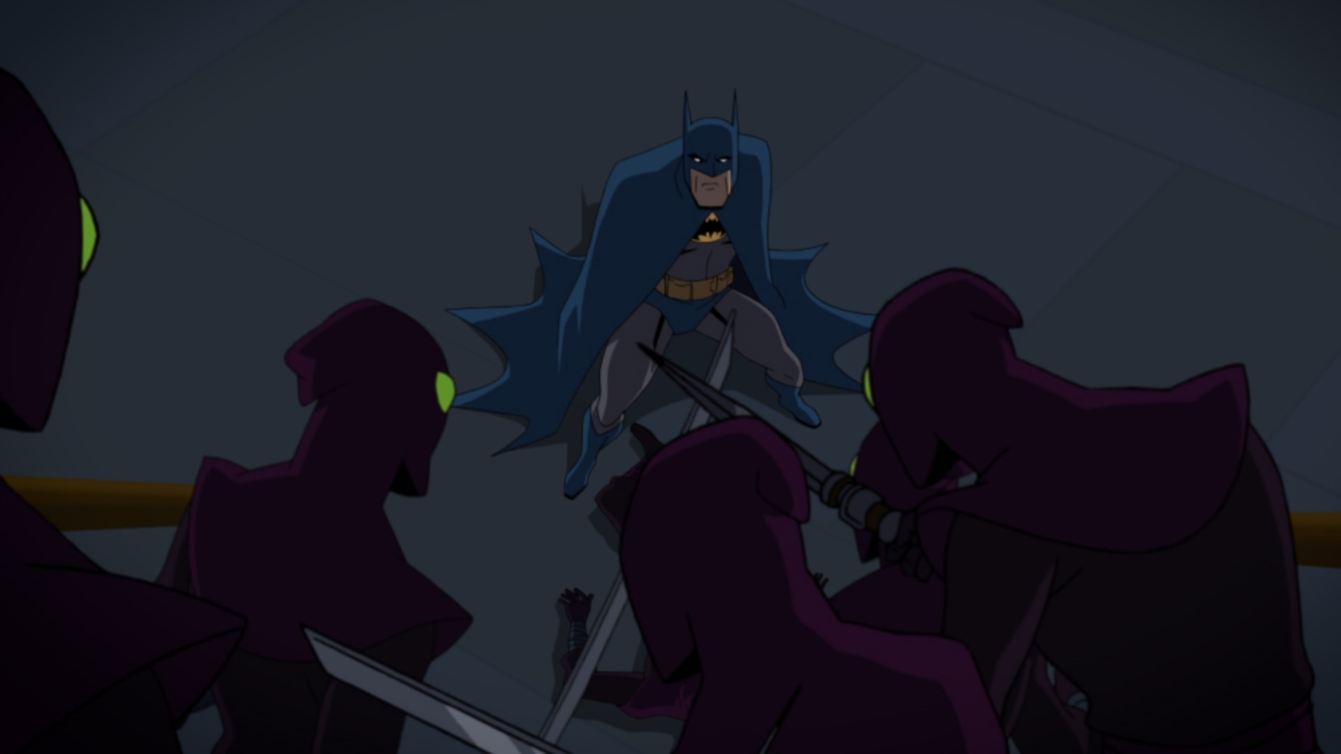 Suit Up And Take On The Foot Clan In Batman Vs Tmnt Clips The Beat