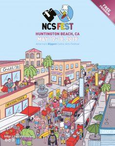 NCS Fest program cover