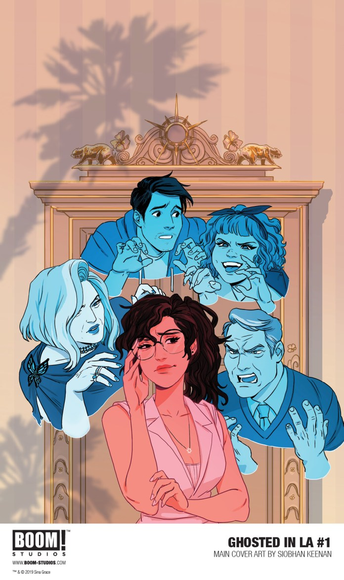 Ghosted In LA #1 cover by Siobhan Keenan