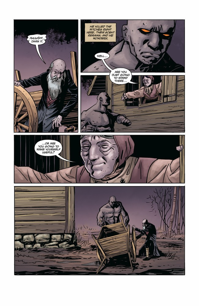Joe Golem: Occult Detective - The Conjurors #1 Page 3