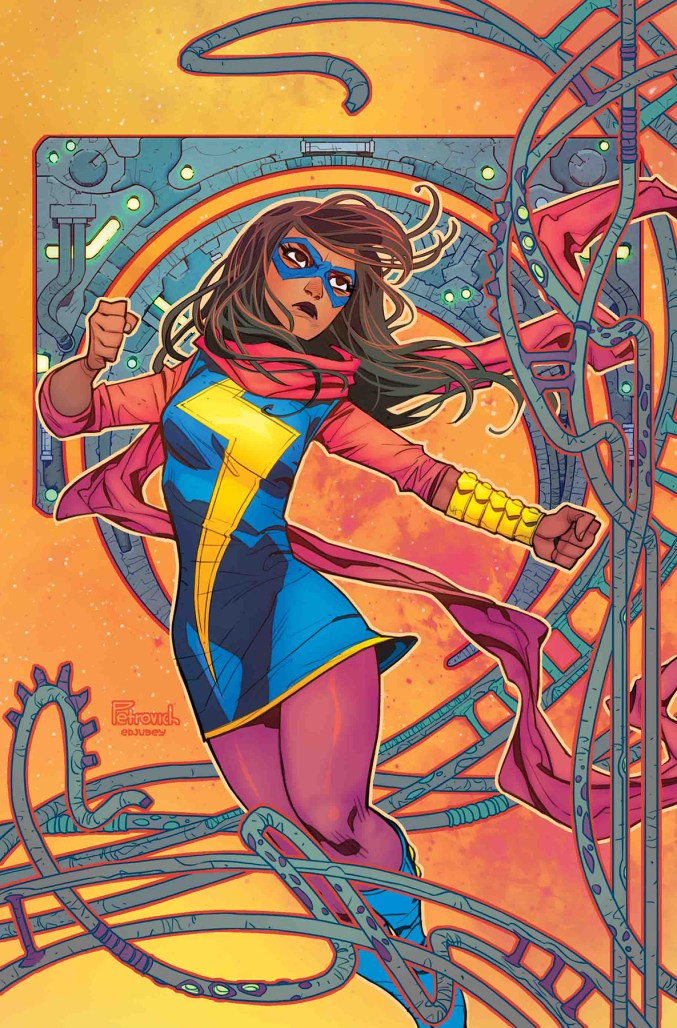 Magnificent Ms. Marvel #3 - Cover