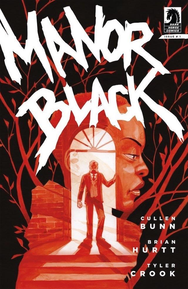 Dark Horse Manor Black Cover A