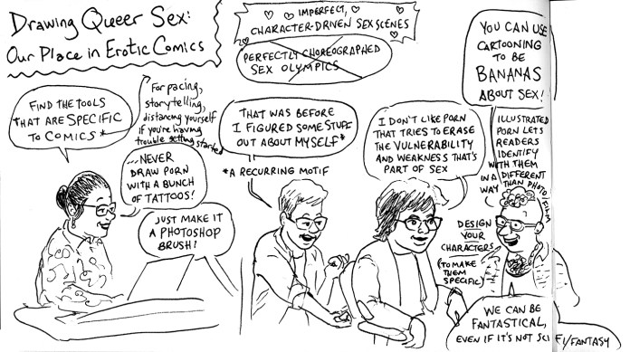Queers & Comics conference comic 11