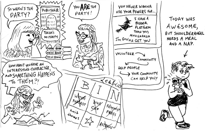 Queers & Comics conference comic 3
