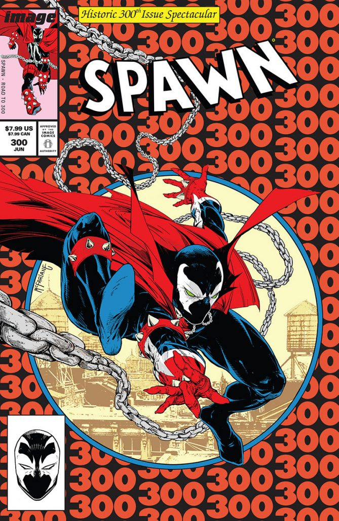 2019 Image Comics SPAWN #300 Cover A Todd McFarlane Cover