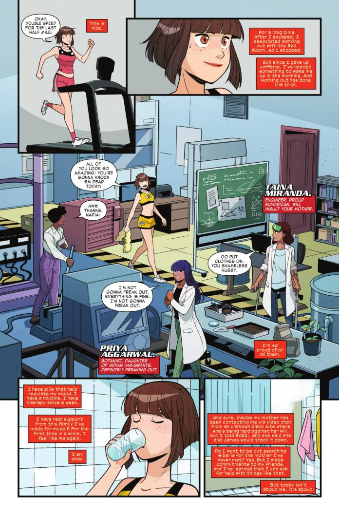 Unstoppable Wasp #8 preview page 2