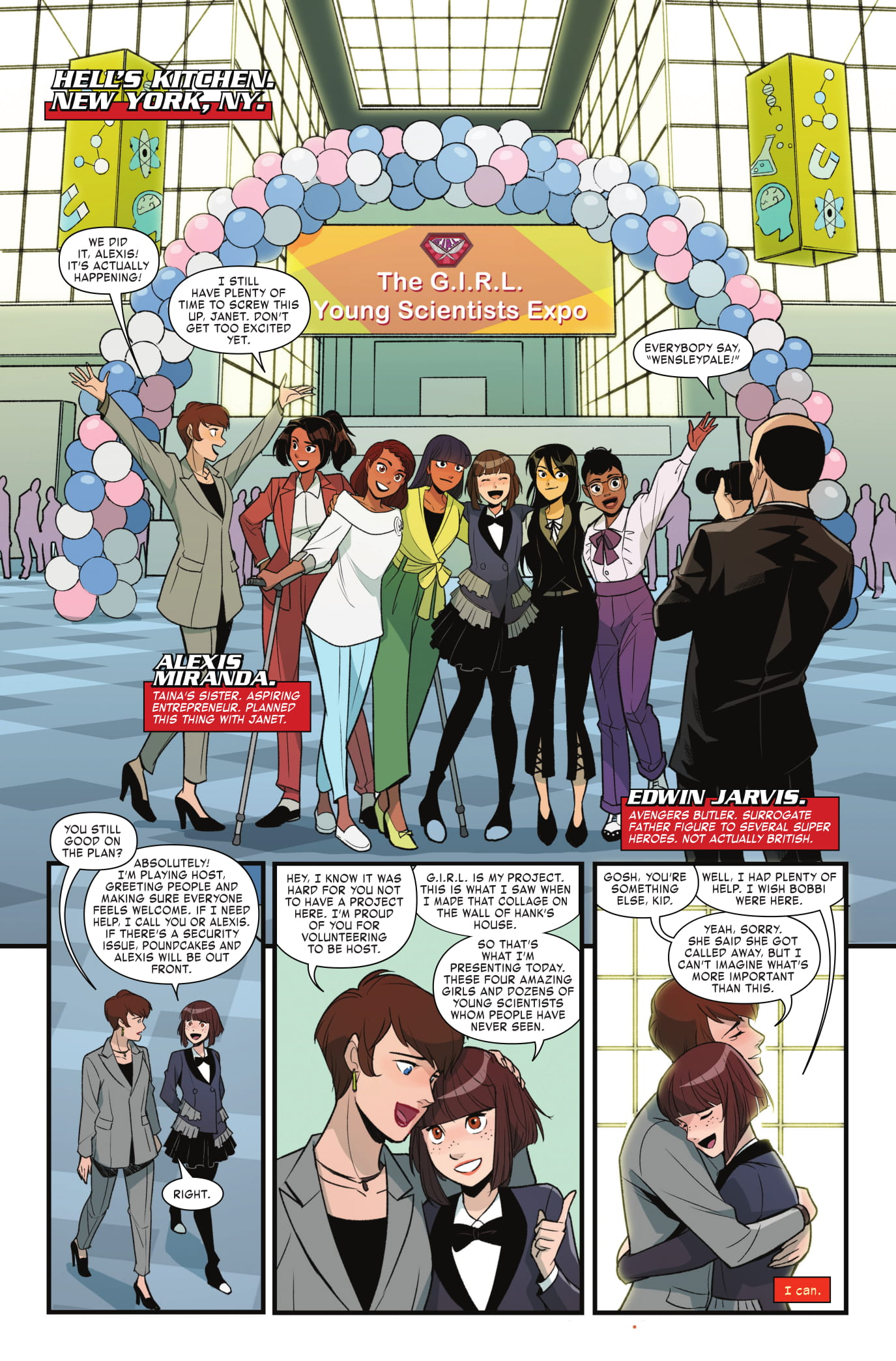 Unstoppable Wasp #8 preview page 3