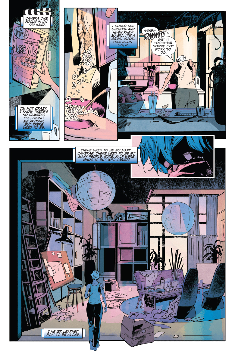 Doctor Mirage #1 preview page 4