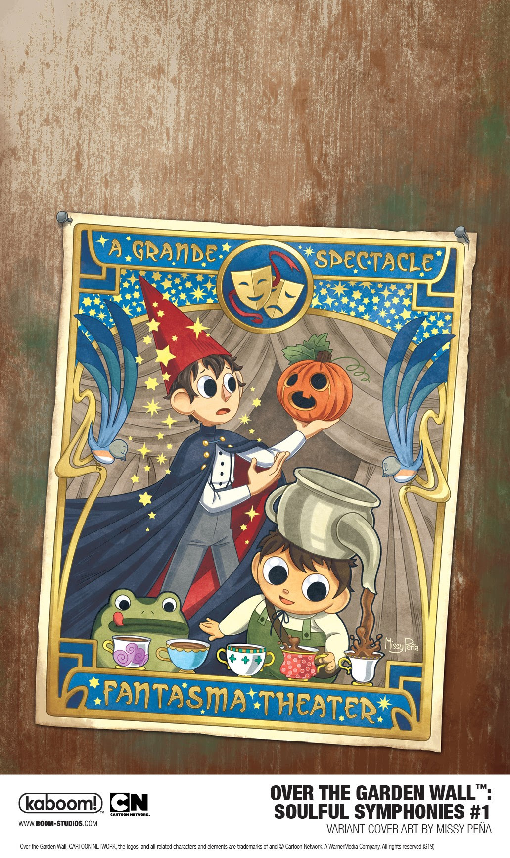 Over the Garden Wall: Soulful Symphonies #1 variant cover B