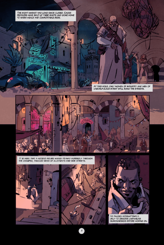 Outcasts of Jupiter preview page 2