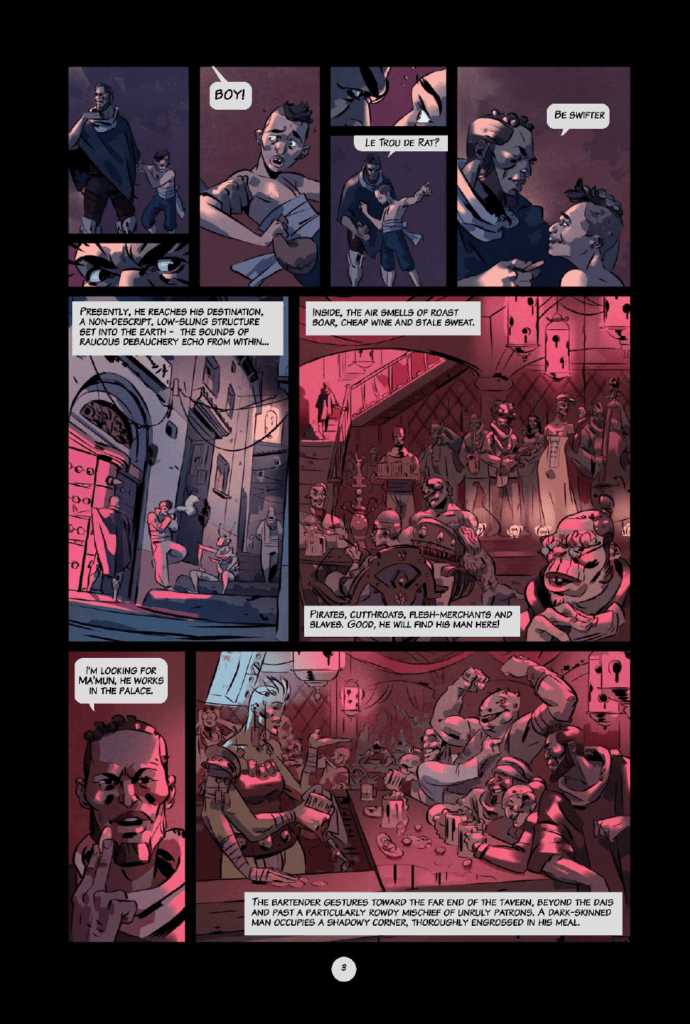 Outcasts of Jupiter preview page 3