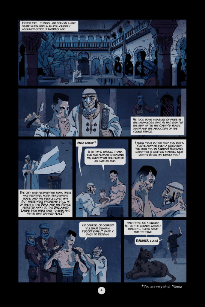 Outcasts of Jupiter preview page 4