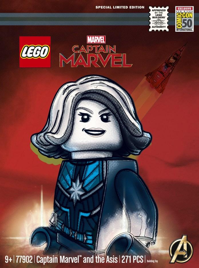 SDCC LEGO Captain Marvel