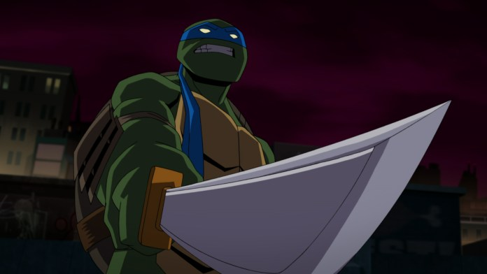 Batman vs. TMNT clips