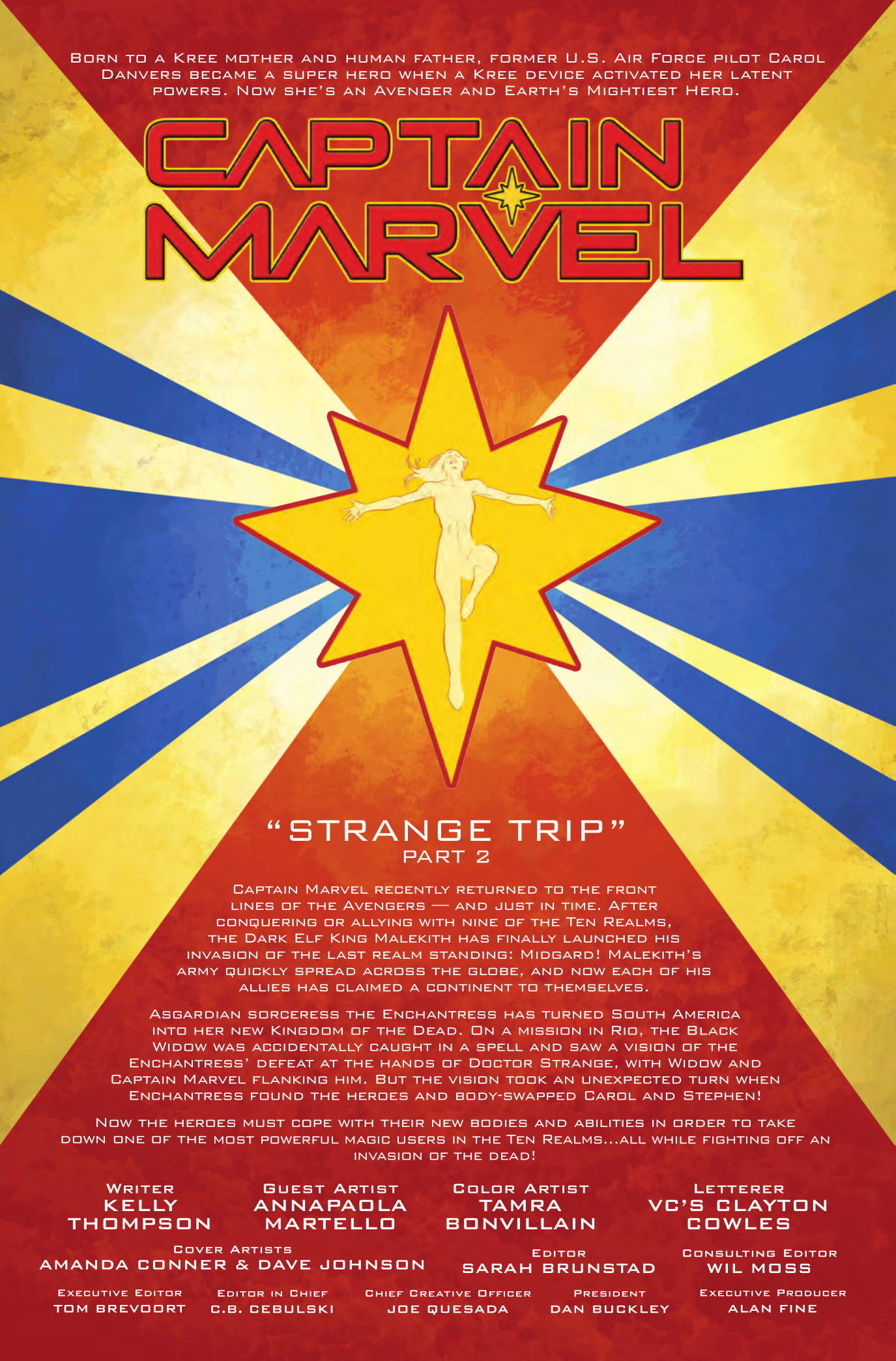 Captain Marvel #7 preview page 1