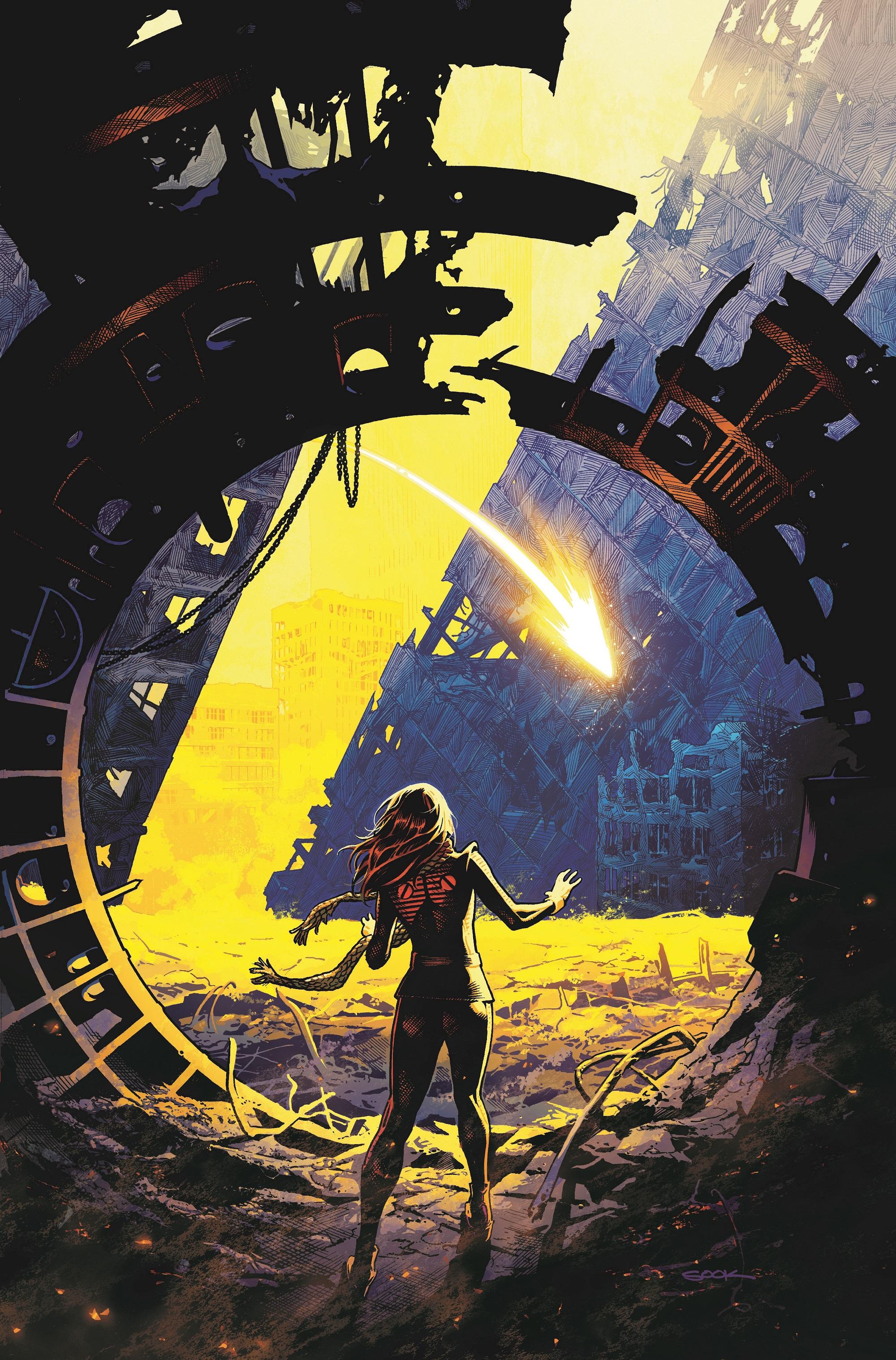 Bendis and Sook bring back the Legion of Super-Heroes