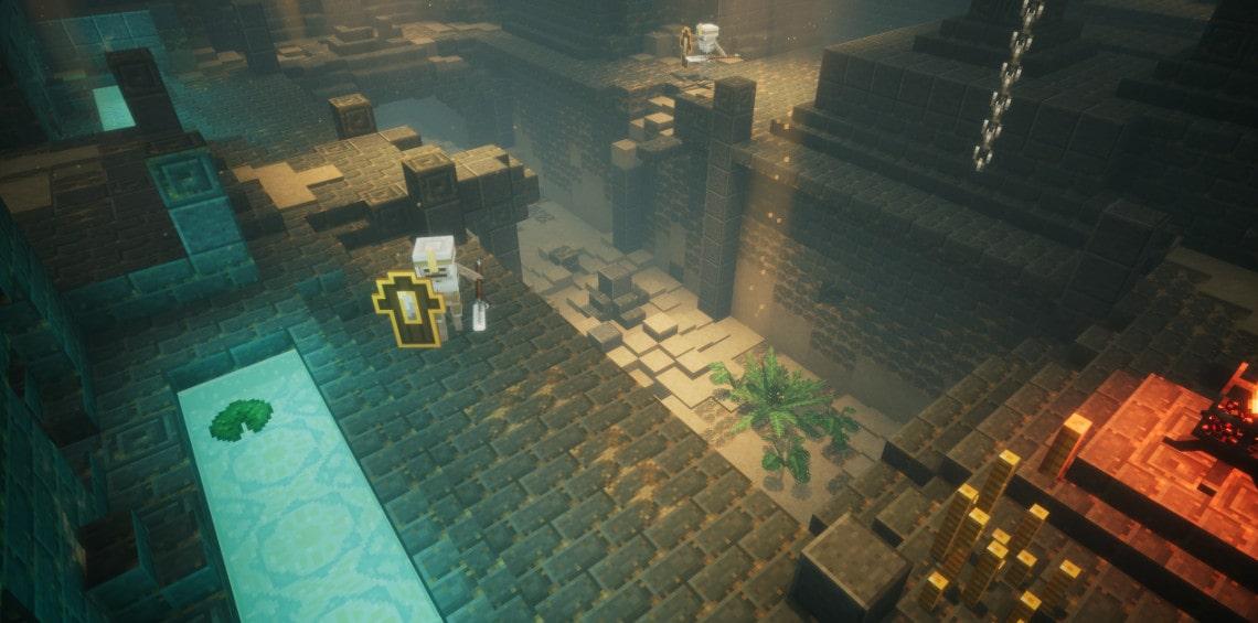 Minecraft rundown city