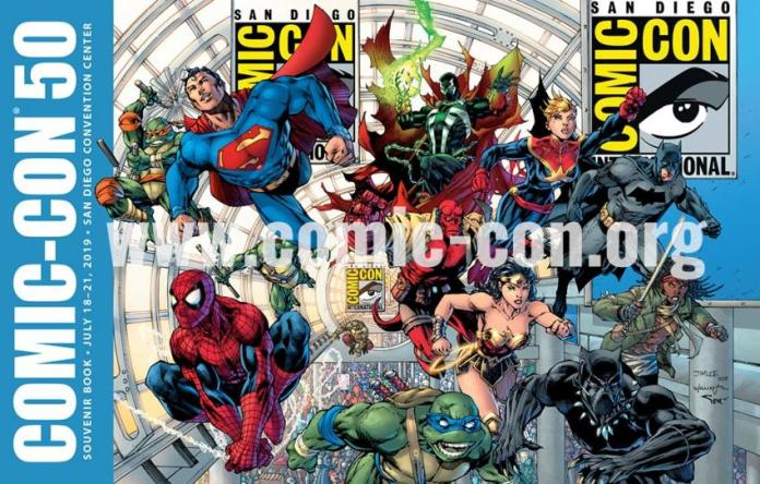 SDCC 2019 Souvenir Book
