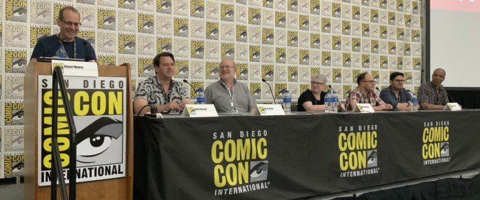 AHOY Comics SDCC panelists