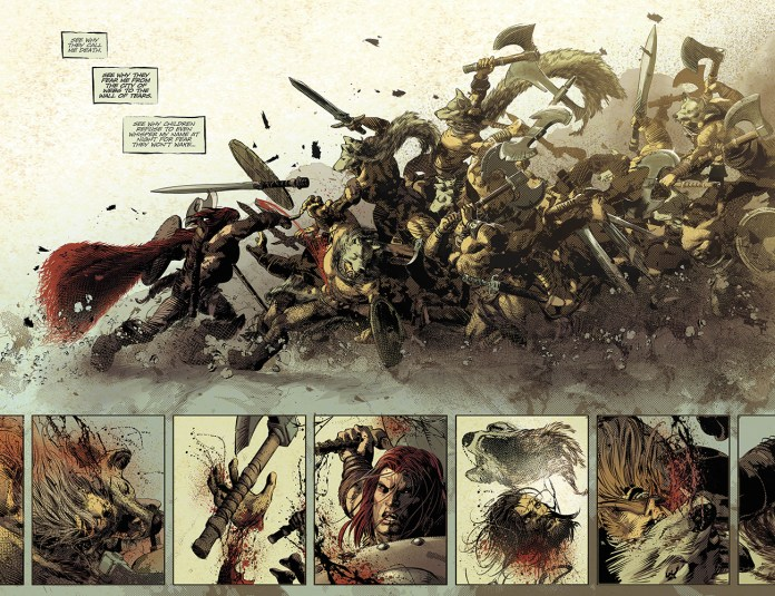Berzerker Unbound by Jeff Lemire and Mike Deodato