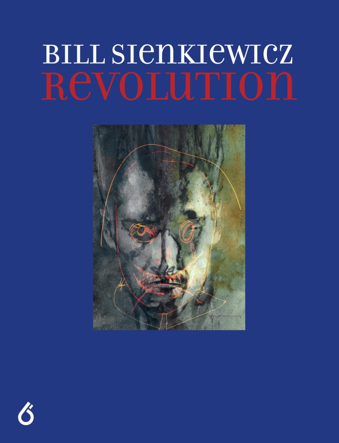 Bill Sienkiewicz: Revolution, Vol. I Trade Edition Cover
