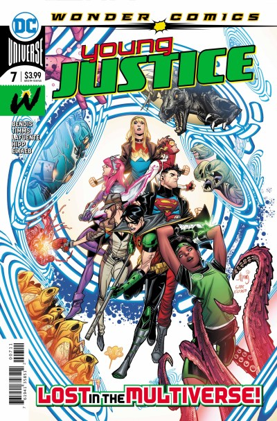 Young Justice #7 cover