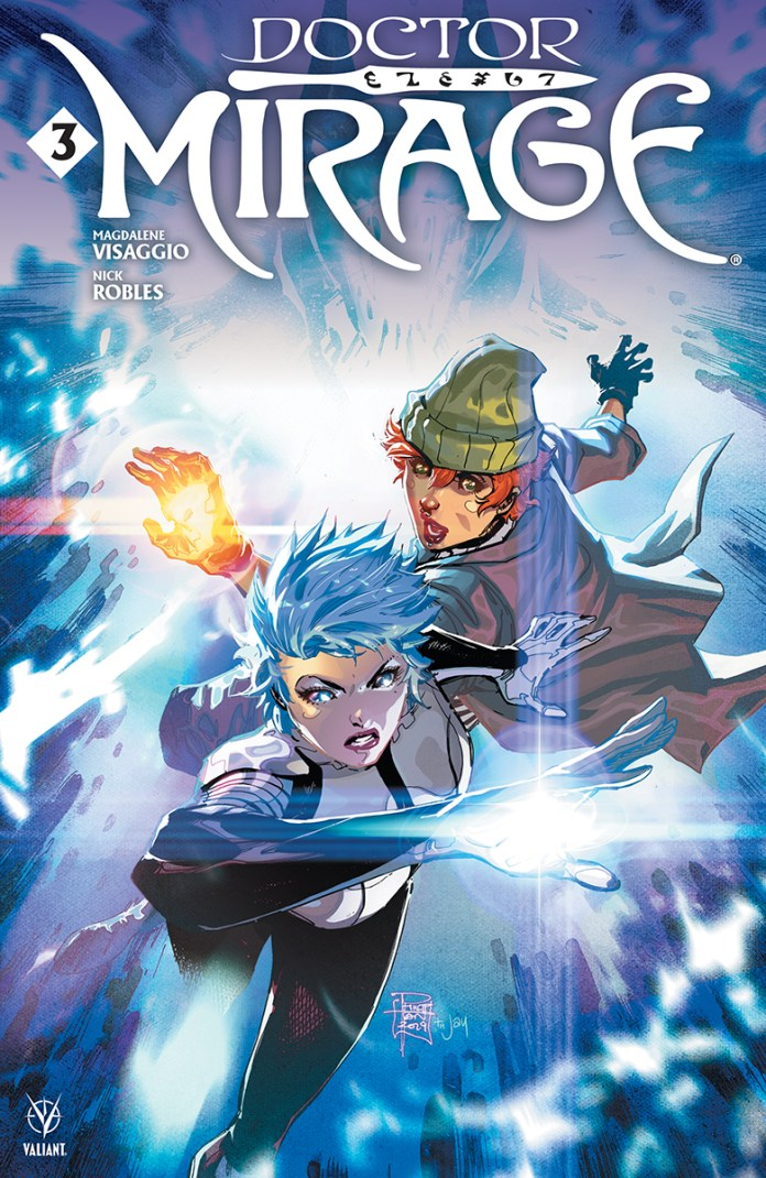 Doctor Mirage #3 main cover art by Philip Tan