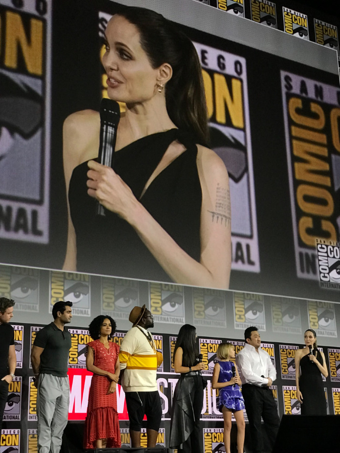 The Eternals cast in Hall H