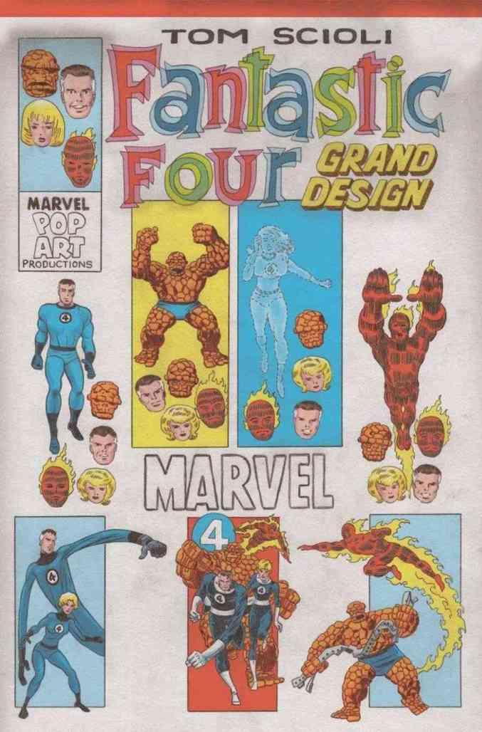 Fantastic Four Grand Design #1 Corner Box Variant