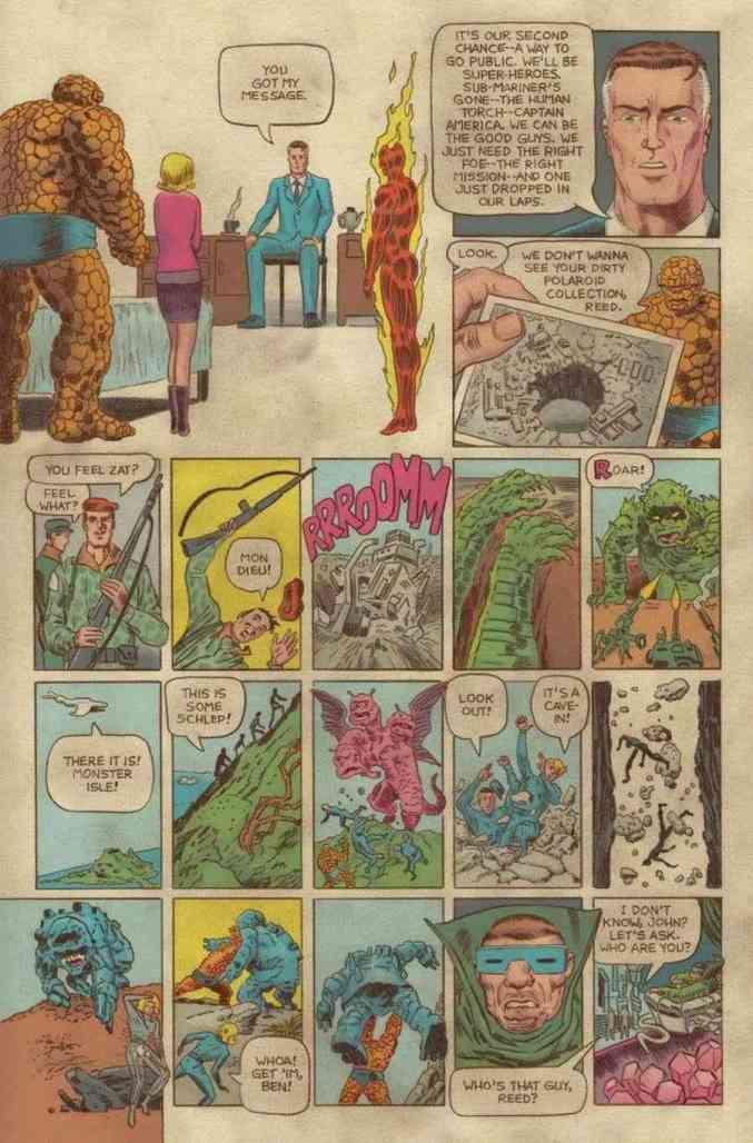 Fantastic Four Grand Design #1 Preview Page 3