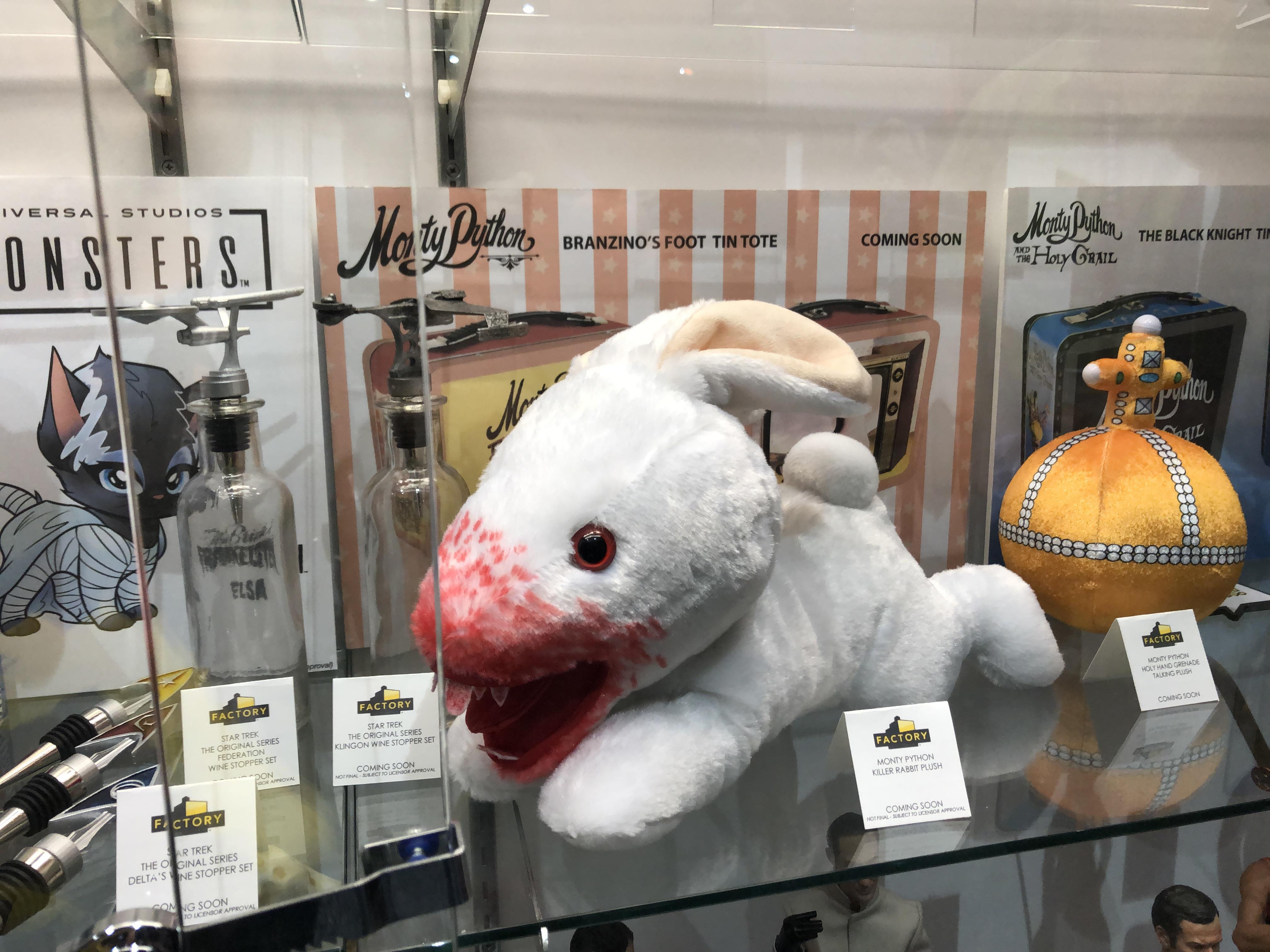 Monty Python Killer Rabbit Caerbannog plush