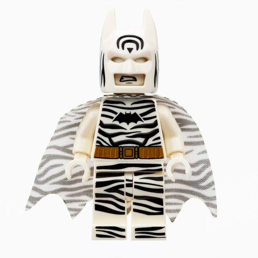 Lego Zebra Batman minifig
