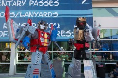 Day 3 in photos - Transformers cosplay