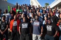 Black Heroes Matter Flash Mob. Photo by Pinguino.