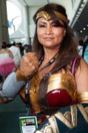 Day 3 in photos - Wonder Woman cosplay