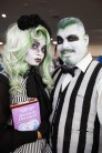 Day 3 in photos - Beetlejuice cosplay