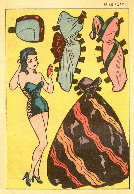 Sassy Smart Women of Pre-Superhero Comics: Miss Fury