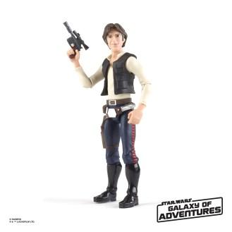 Star Wars Galaxy of Adventures - Han Solo
