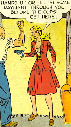 Sassy Smart Women of Pre-Superhero Comics: Sally the Sleuth