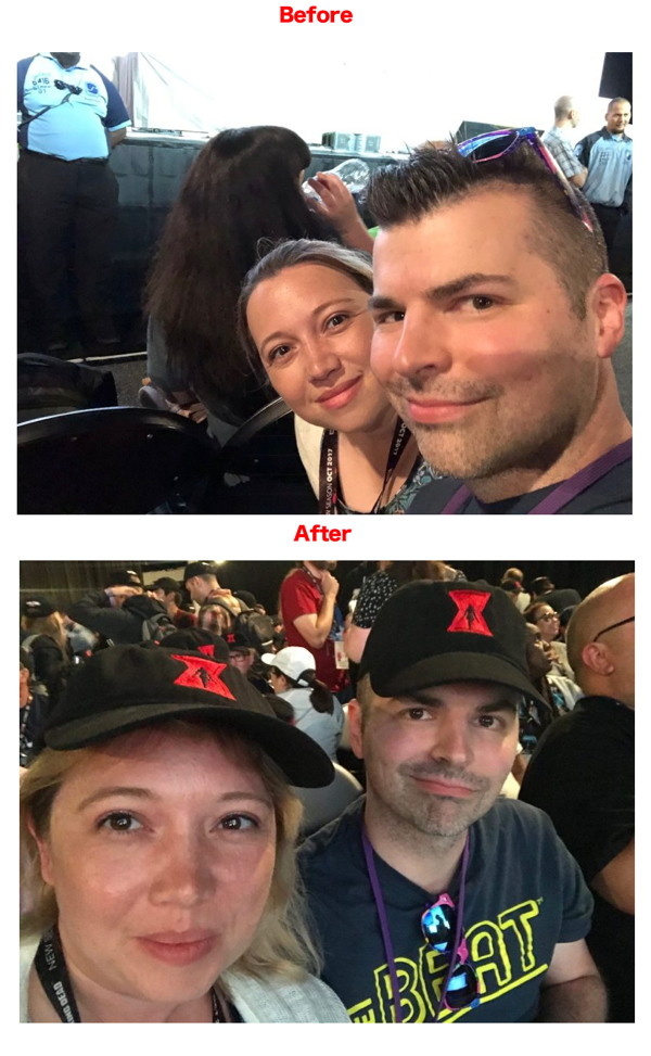 hall h before and after