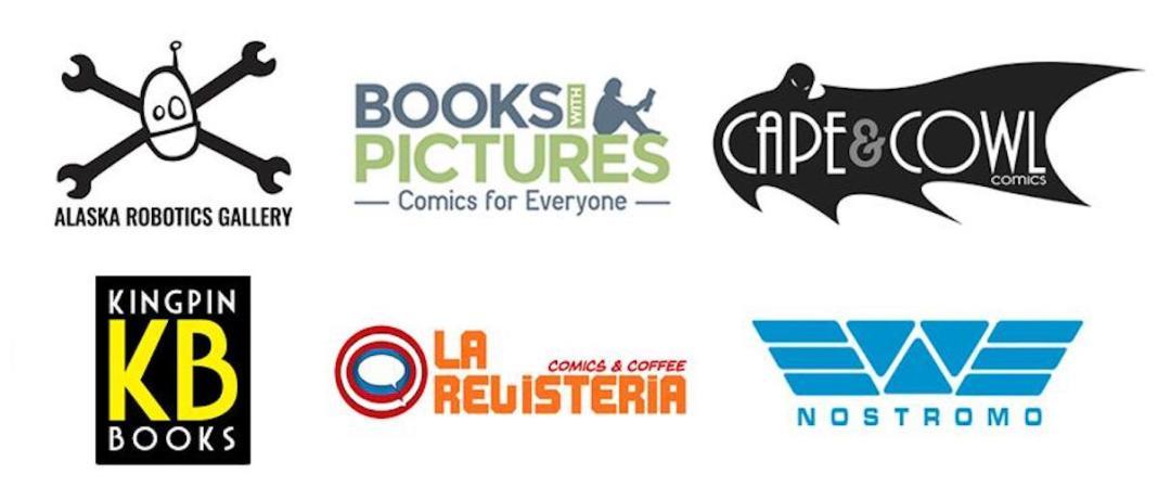2019 Will Eisner Spirit of Comics Retailer Award finalists