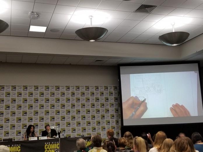 Creating a Comic panel